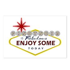 Las Vegas Pinot Noir Postcards (Package of 8)