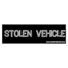 Stolen Vehicle Bumper Bumper Sticker