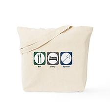 Eat Sleep Squash Tote Bag