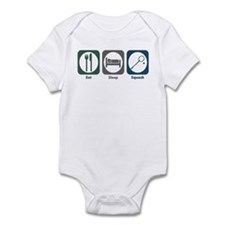 Eat Sleep Squash Infant Bodysuit