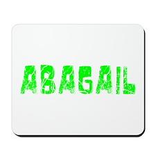 Abagail Faded (Green) Mousepad