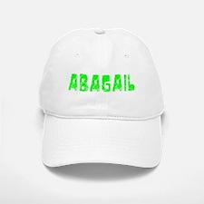 Abagail Faded (Green) Baseball Baseball Cap