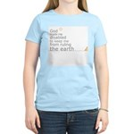 """Disabled """"Ruling the Earth"""" Women's Light T-Shirt"""