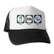 Eat Sleep Spin Trucker Hat