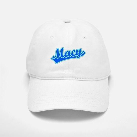Retro Macy (Blue) Baseball Baseball Cap