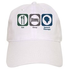 Eat Sleep Speech Therapy Baseball Cap
