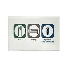 Eat Sleep Speech and Rhetorical Studies Rectangle