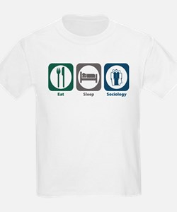 Eat Sleep Sociology T-Shirt
