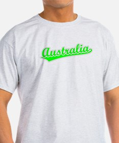 Retro Australia (Green) T-Shirt