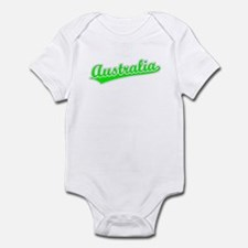 Retro Australia (Green) Infant Bodysuit