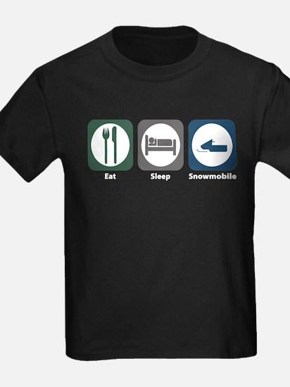 Eat Sleep Snowmobile T