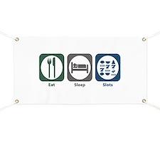 Eat Sleep Slots Banner