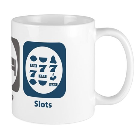 Eat Sleep Slots Mug