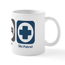 Eat Sleep Ski Patrol Small Mugs
