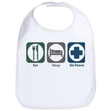 Eat Sleep Ski Patrol Bib