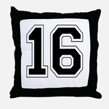 16 Throw Pillow