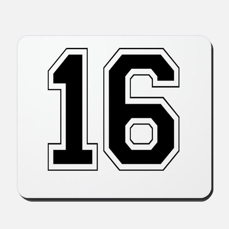 16 Mousepad