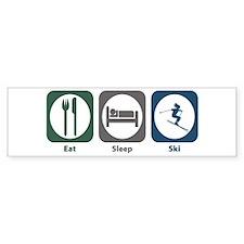 Eat Sleep Ski Bumper Sticker (50 pk)