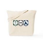 Eat Sleep Skate Tote Bag
