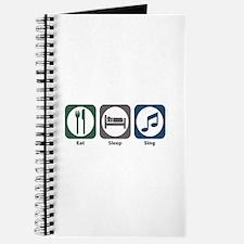 Eat Sleep Sing Journal
