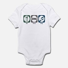 Eat Sleep Sing Infant Bodysuit
