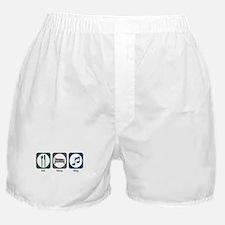 Eat Sleep Sing Boxer Shorts