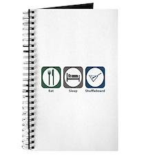 Eat Sleep Shuffleboard Journal
