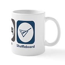 Eat Sleep Shuffleboard Mug