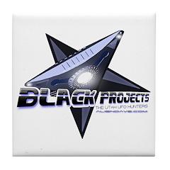 Black Projects Gear Tile Coaster