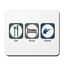 Eat Sleep Shoot Mousepad