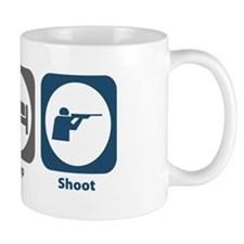 Eat Sleep Shoot Small Mug
