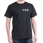 Eat Sleep Shoes Dark T-Shirt