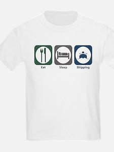 Eat Sleep Shipping T-Shirt
