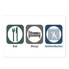Eat Sleep Semiconductors Postcards (Package of 8)