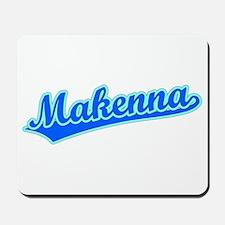 Retro Makenna (Blue) Mousepad