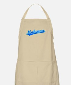 Retro Makenna (Blue) BBQ Apron