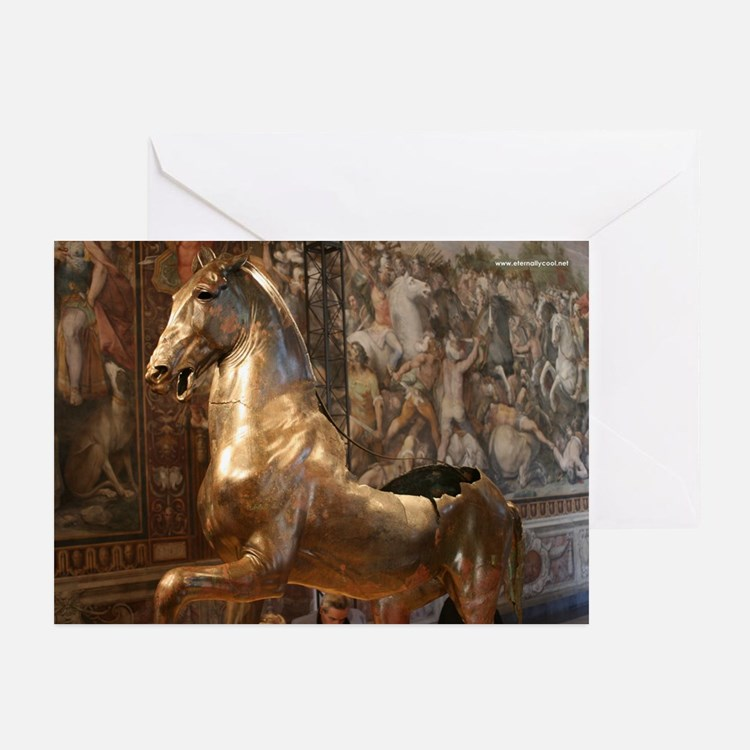 Bronze Horse Greeting Cards (Pk of 10)