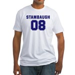 Stambaugh 08 Fitted T-Shirt