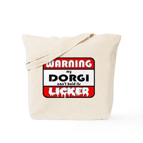 Dorgi LICKER Tote Bag