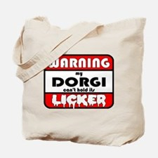 Dorgi LICKER Tote Bag