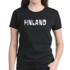 Finland Faded (Silver) Tee