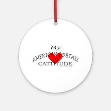 AMERICAN BOBTAIL Ornament (Round)