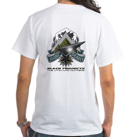 Black Projects Gear White T-Shirt