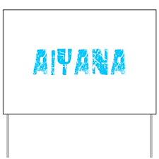 Aiyana Faded (Blue) Yard Sign