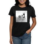 Sleep Under Quilt - Dreams an Women's Dark T-Shirt