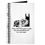 Sleep Under Quilt - Dreams an Journal