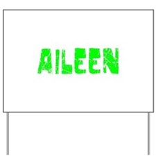 Aileen Faded (Green) Yard Sign