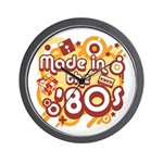 Made In The 80s Wall Clock