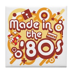 Made In The 80s Tile Coaster