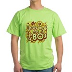 Made In The 80s Green T-Shirt